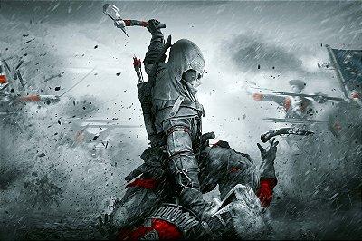Quadro Gamer Assassin's Creed 3 - Revolução Americana