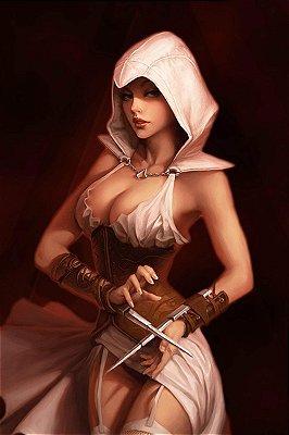 Quadro Gamer Assassin's Creed - Assassina
