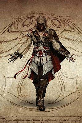 Quadro Gamer Assassin's Creed - Ezio 3