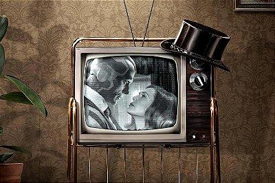 Quadro WandaVision - Programa de TV
