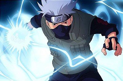 Quadro Naruto - Kakashi Chidori 2