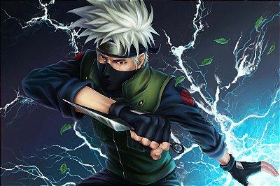 Quadro Naruto - Kakashi Chidori 3
