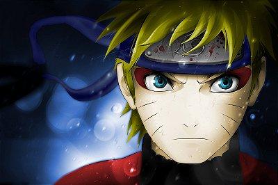 Quadro Naruto - Modo Sábio