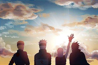 Quadro Naruto - Time 7 Horizonte