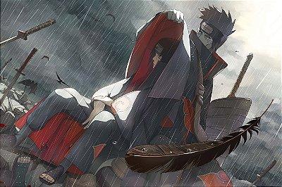 Quadro Naruto - Itachi e Kisame