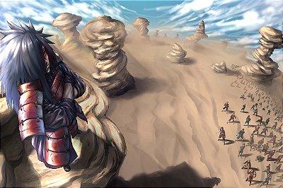 Quadro Naruto - Madara Uchiha 3