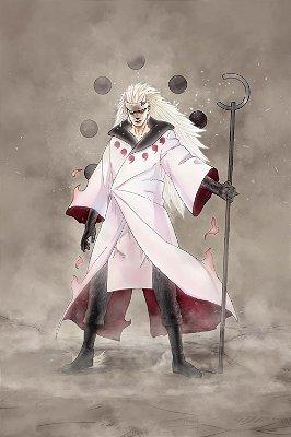 Quadro Naruto - Madara Jinchuuriki