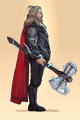 Quadro Thor - Perfil Gordo
