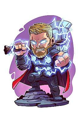 Quadro Thor - Desenho