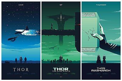 Quadro Thor - Filmes