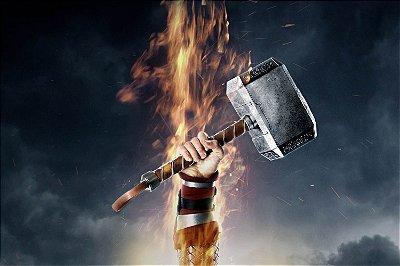 Quadro Thor - Martelo Mjolnir 2