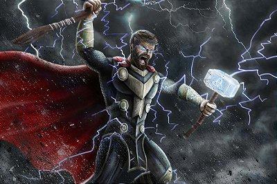 Quadro Thor - Trovão 3