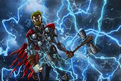 Quadro Thor - Trovão 4
