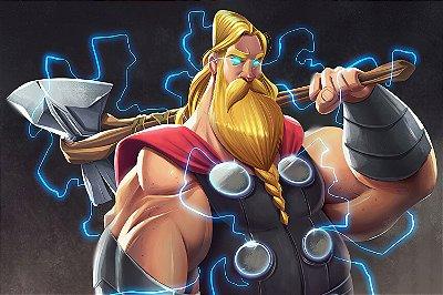Quadro Thor - Desenho 2