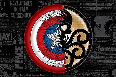 Quadro Capitão América - Hydra