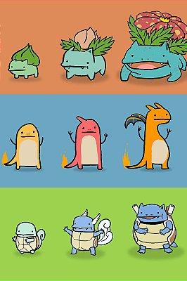 Quadro Pokémon - Desenho