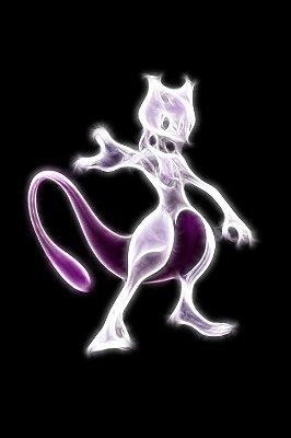 Quadro Pokémon - Mewtwo