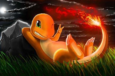 Quadro Pokémon - Charmander