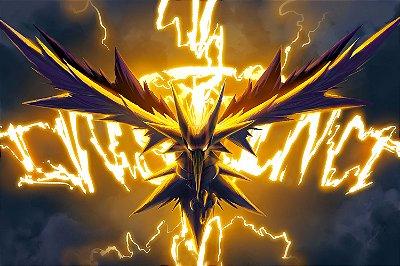Quadro Pokémon - Zapdos