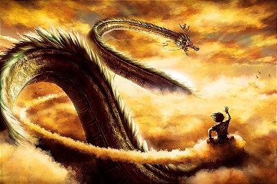 Quadro Dragon Ball - Shenlong Dragão das Esferas 2