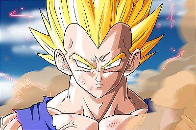 Quadro Dragon Ball - Majin Vegeta
