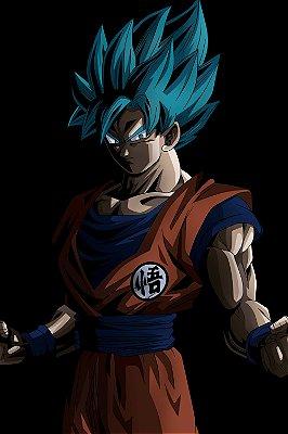 Quadro Dragon Ball - Goku Minimalista 2