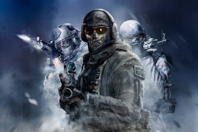 Quadro Gamer Call of Duty - Squad