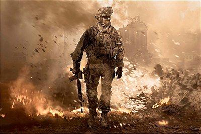 Quadro Gamer Call of Duty - Modern Warfare 2