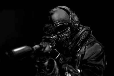Quadro Gamer Call of Duty - Ghosts