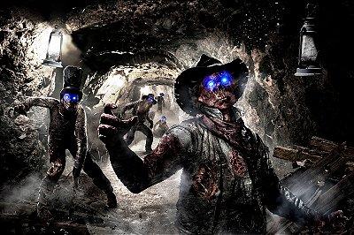 Quadro Gamer Call of Duty - Zombies 2