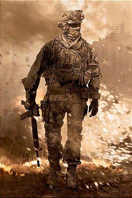 Quadro Gamer Call of Duty - Modern Warfare 2 Vertical