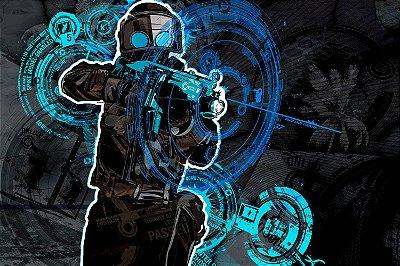 Quadro Gamer - Counter Strike Artístico 2
