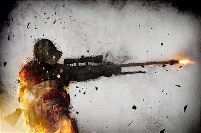 Quadro Gamer - Counter Strike Sniper