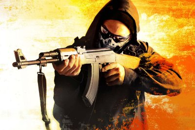 Quadro Gamer - Counter Strike Terrorista AK-47