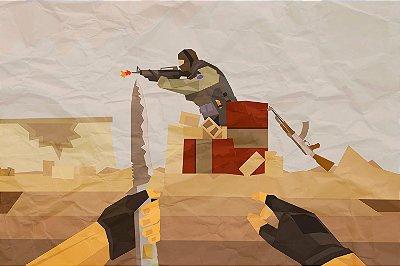 Quadro Gamer - Counter Strike Desenho