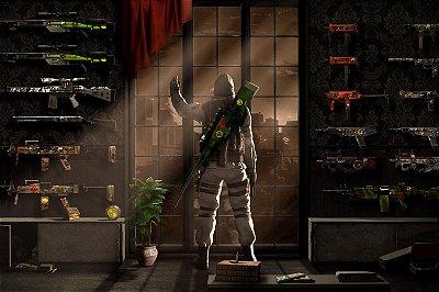 Quadro Gamer - Counter Strike Artístico 3