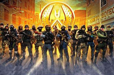 Quadro Gamer - Counter Strike CTs