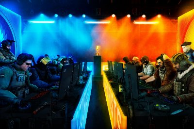 Quadro Gamer - Counter Strike Campeonato