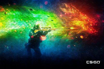 Quadro Gamer - Counter Strike Sniper 2