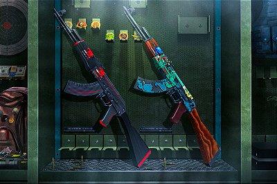 Quadro Gamer - Counter Strike Ak-47