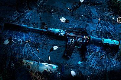 Quadro Gamer - Counter Strike M4A1-S