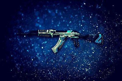 Quadro Gamer - Counter Strike Ak-47 Vulcan