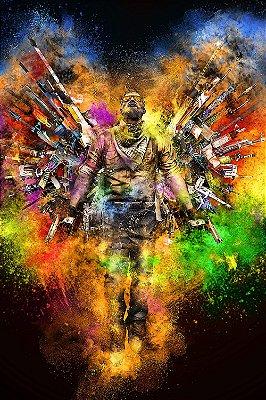 Quadro Gamer - Counter Strike Mestre das Armas