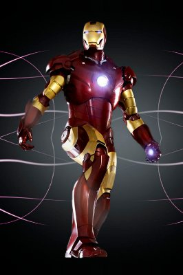 Quadro Homem de Ferro - Mark III