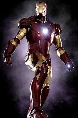 Quadro Homem de Ferro - Mark III 3