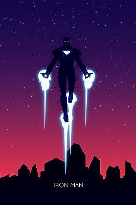 Quadro Homem de Ferro - Artístico 3