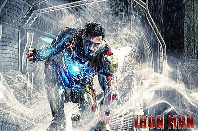 Quadro Homem de Ferro - Filme