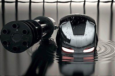Quadro Iron Man - War Machine Mark II