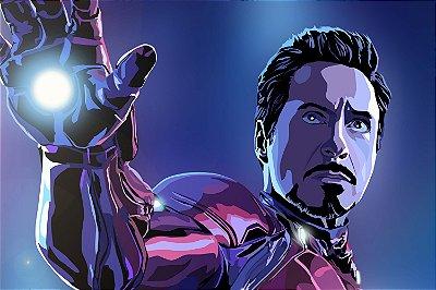 Quadro Homem de Ferro - Tony Stark