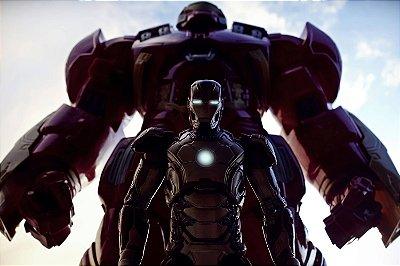 Quadro Homem de Ferro - Hulkbuster